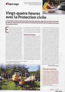 24 heures avec la protection civile