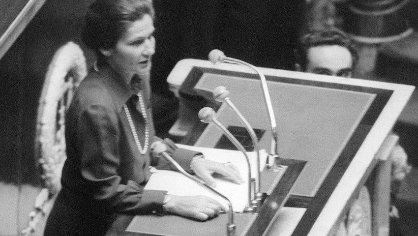 Simone Veil: le droit à l'avortement