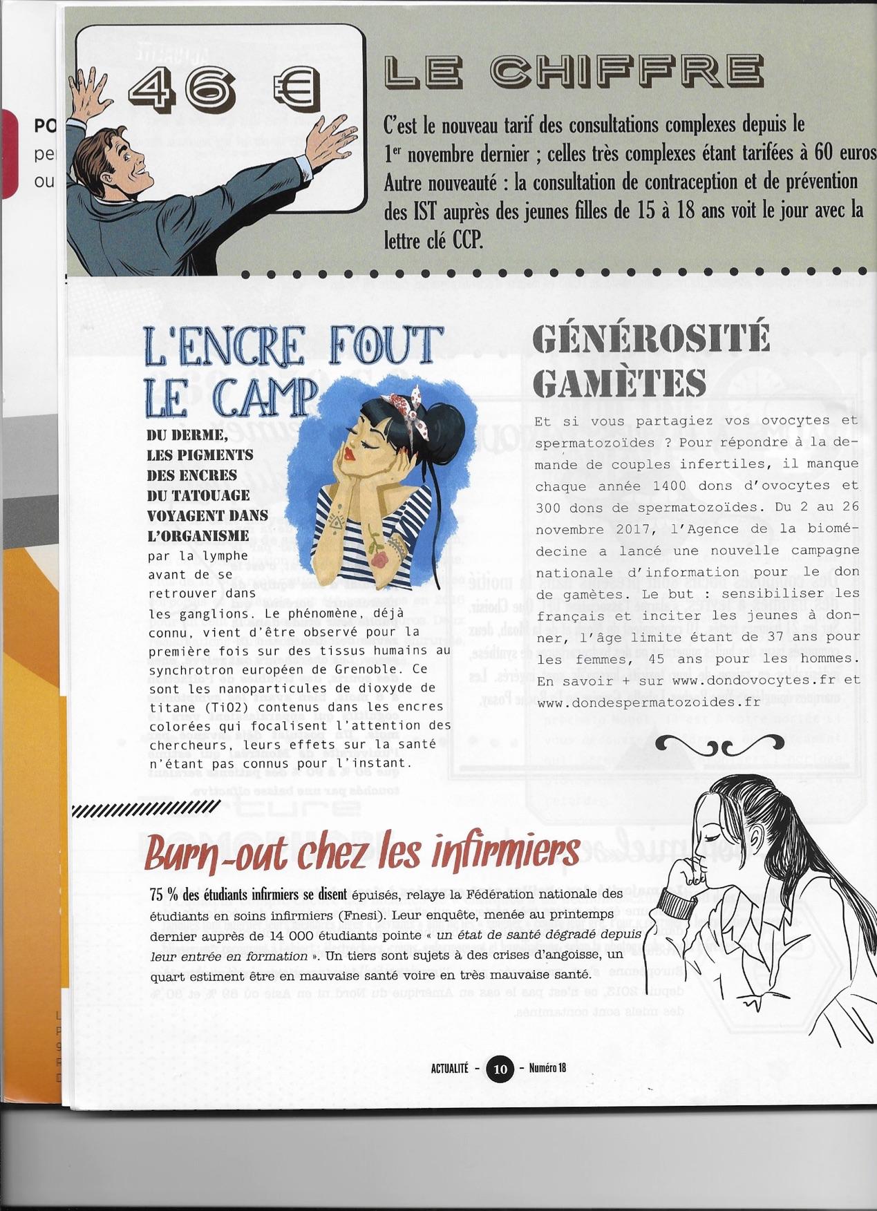 Brèves santé magazine H