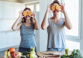 Une assiette riche en vitamine C